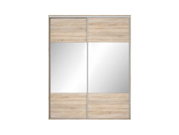 Front dulap Nadir 190-200 stejar sonoma-oglinda