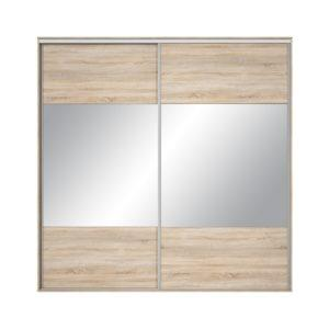 Front dulap Nadir 230-240 stejar sonoma-oglinda